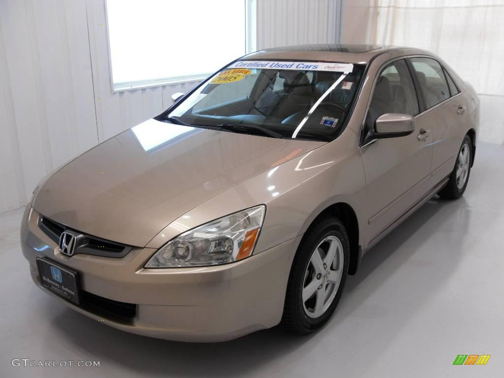 2005 Desert Mist Metallic Honda Accord EX-L Sedan #24493800 Photo #21 | GTCarLot.com - Car Color ...