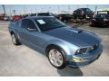 2007 Windveil Blue Metallic Ford Mustang GT Premium Coupe  photo #3