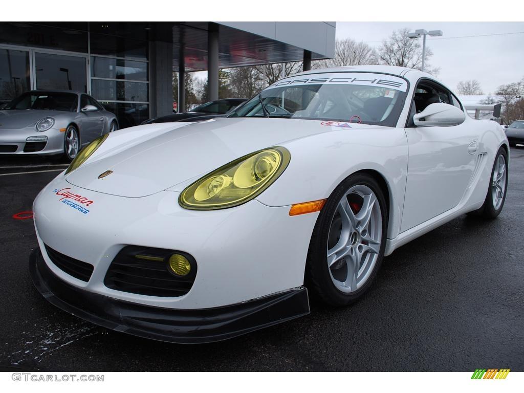 2009 Carrara White Porsche Cayman S Interseries 24580304