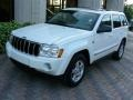 Stone White 2005 Jeep Grand Cherokee Limited 4x4