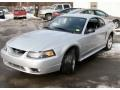 2001 Silver Metallic Ford Mustang Cobra Coupe  photo #1