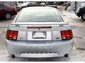 2001 Silver Metallic Ford Mustang Cobra Coupe  photo #6