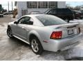2001 Silver Metallic Ford Mustang Cobra Coupe  photo #7