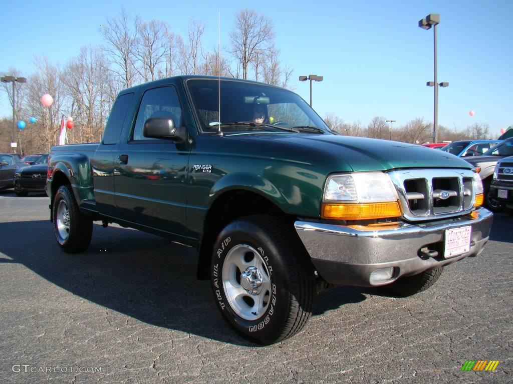 1999 amazon green metallic ford ranger xlt extended cab. Black Bedroom Furniture Sets. Home Design Ideas