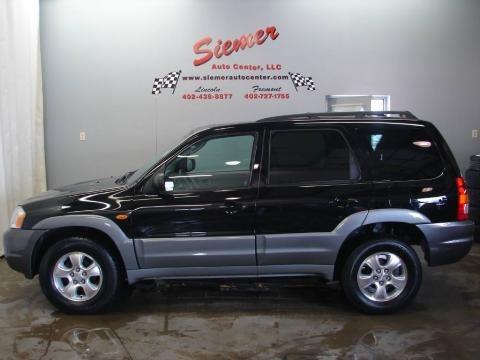 2002 Mazda Tribute Black