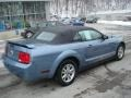 2006 Windveil Blue Metallic Ford Mustang V6 Deluxe Convertible  photo #2