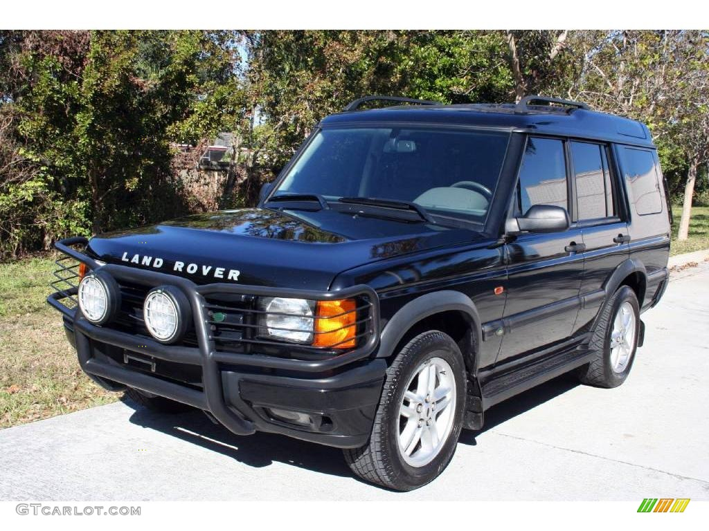 Java black land rover discovery ii