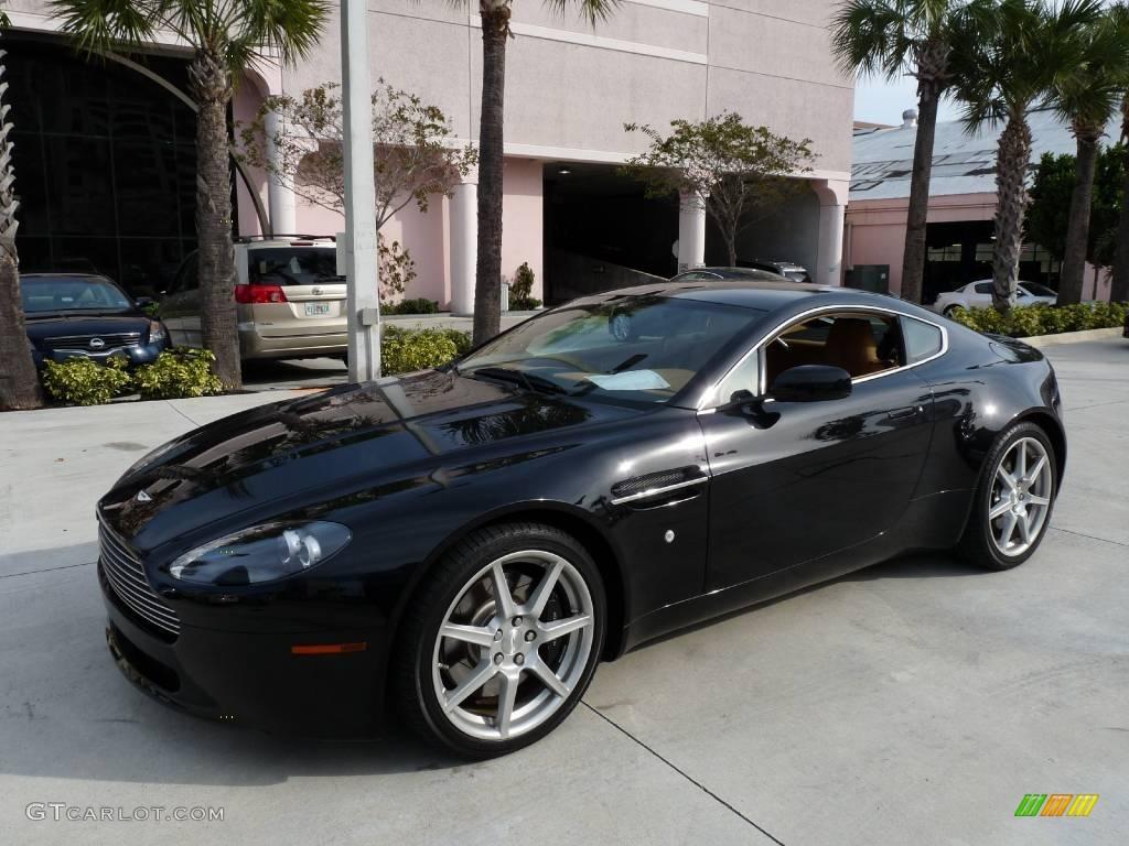 2008 onyx black aston martin v8 vantage coupe #24588299 | gtcarlot