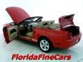 2007 Torch Red Ford Mustang V6 Deluxe Convertible  photo #8