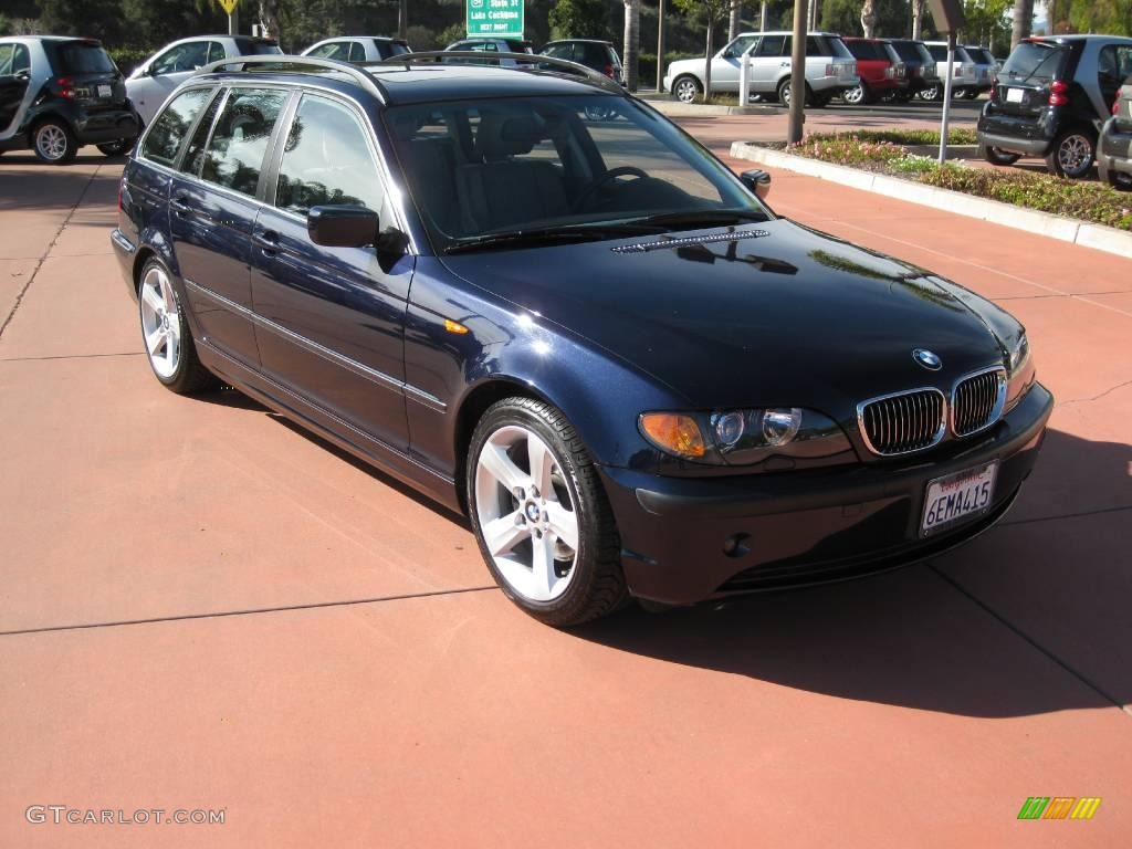 2005 black sapphire metallic bmw 3 series 325i wagon 24588227 car color galleries. Black Bedroom Furniture Sets. Home Design Ideas