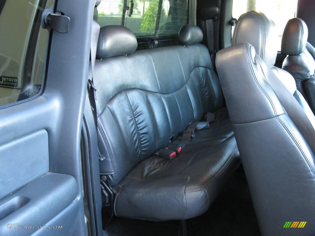 2002 Light Pewter Metallic Chevrolet Silverado 1500 Ls Extended Cab 4x4 24588125 Photo 16