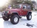 1998 Chili Pepper Red Pearl Jeep Wrangler Sport 4x4 #24588935