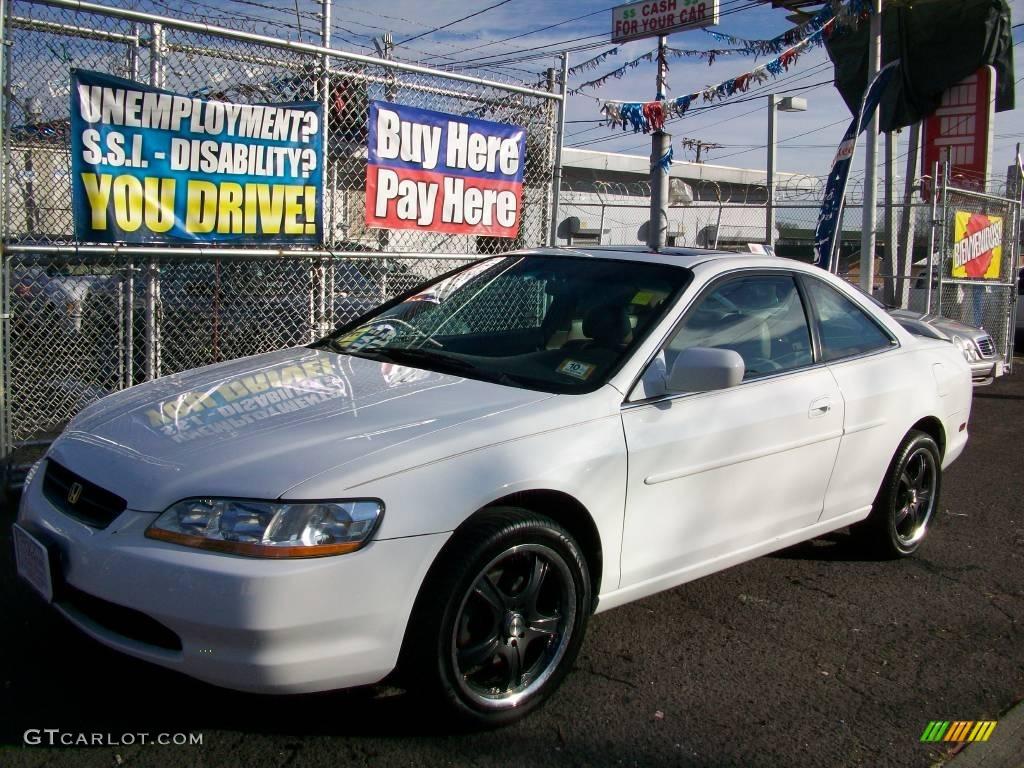 1999 Taffeta White Honda Accord Ex V6 Coupe 24588984