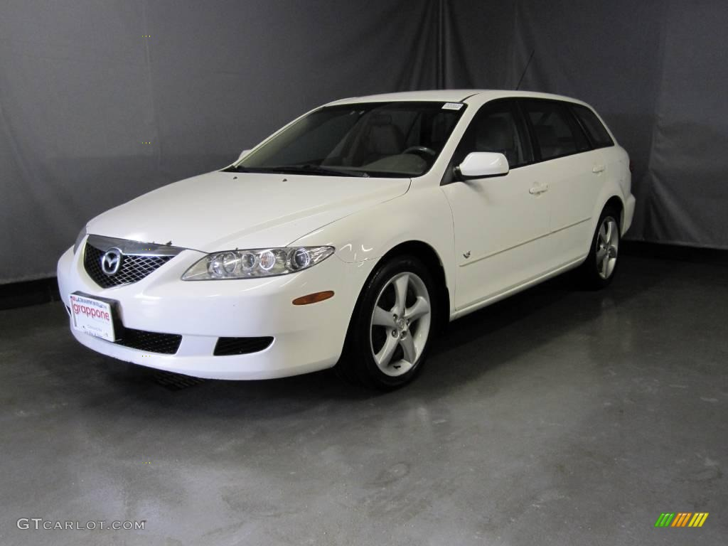 2004 Performance White Mazda Mazda6 S Sport Wagon 24588987 Gtcarlot Com Car Color Galleries