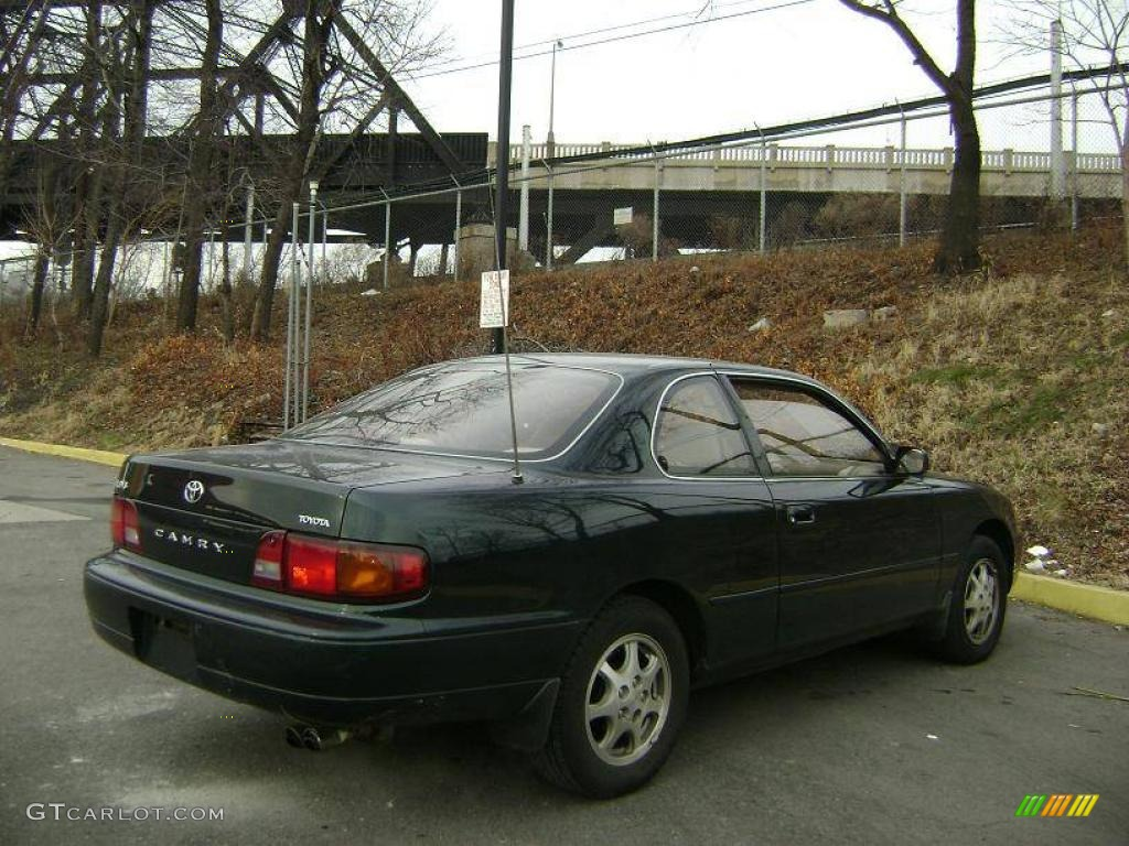 1995 Dark Emerald Green Metallic Toyota Camry LE V6 Coupe