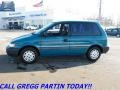 Bright Turquoise Metallic 1993 Eagle Summit DL Wagon