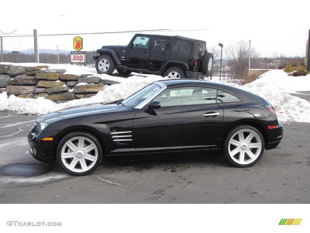 2004 Black Chrysler Crossfire Limited Coupe 24589232