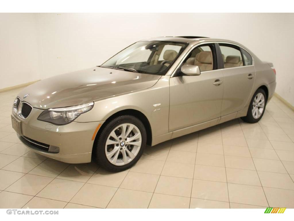2010 platinum bronze metallic bmw 5 series 535i xdrive. Black Bedroom Furniture Sets. Home Design Ideas