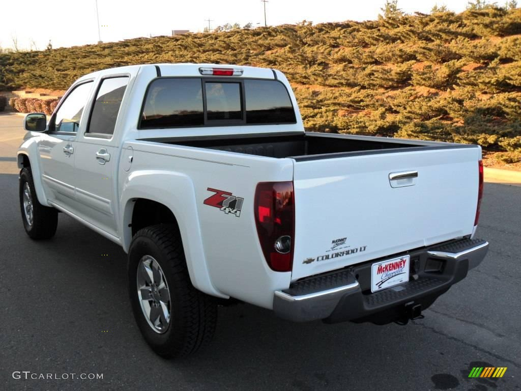 2010 summit white chevrolet colorado lt crew cab 4x4. Black Bedroom Furniture Sets. Home Design Ideas