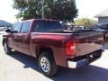 2009 Deep Ruby Red Metallic Chevrolet Silverado 1500 LT Crew Cab  photo #3