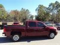 2009 Deep Ruby Red Metallic Chevrolet Silverado 1500 LT Crew Cab  photo #9