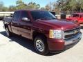 2009 Deep Ruby Red Metallic Chevrolet Silverado 1500 LT Crew Cab  photo #10
