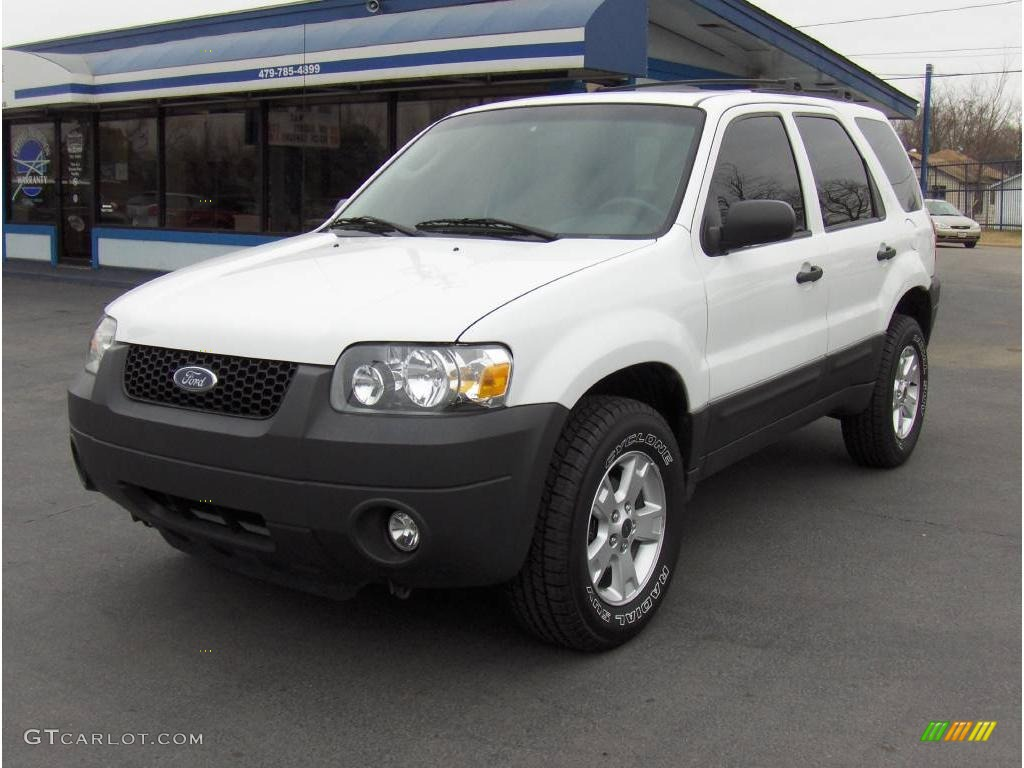 Oxford white ford escape