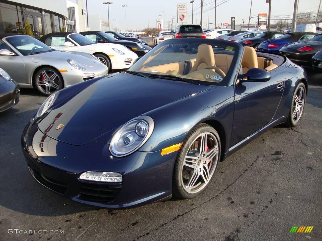 2010 Dark Blue Metallic Porsche 911 Carrera S Cabriolet 24753004 Gtcarlot Com Car Color