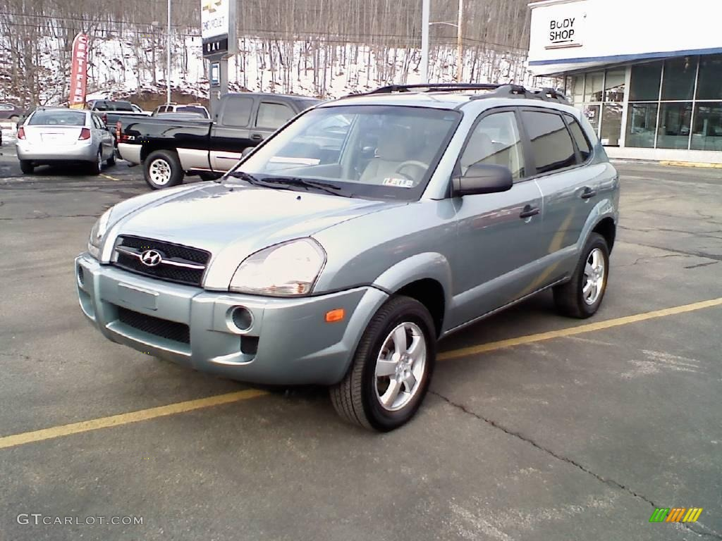 2006 alpine frost hyundai tucson gl 4x4 24753027 car color galleries. Black Bedroom Furniture Sets. Home Design Ideas