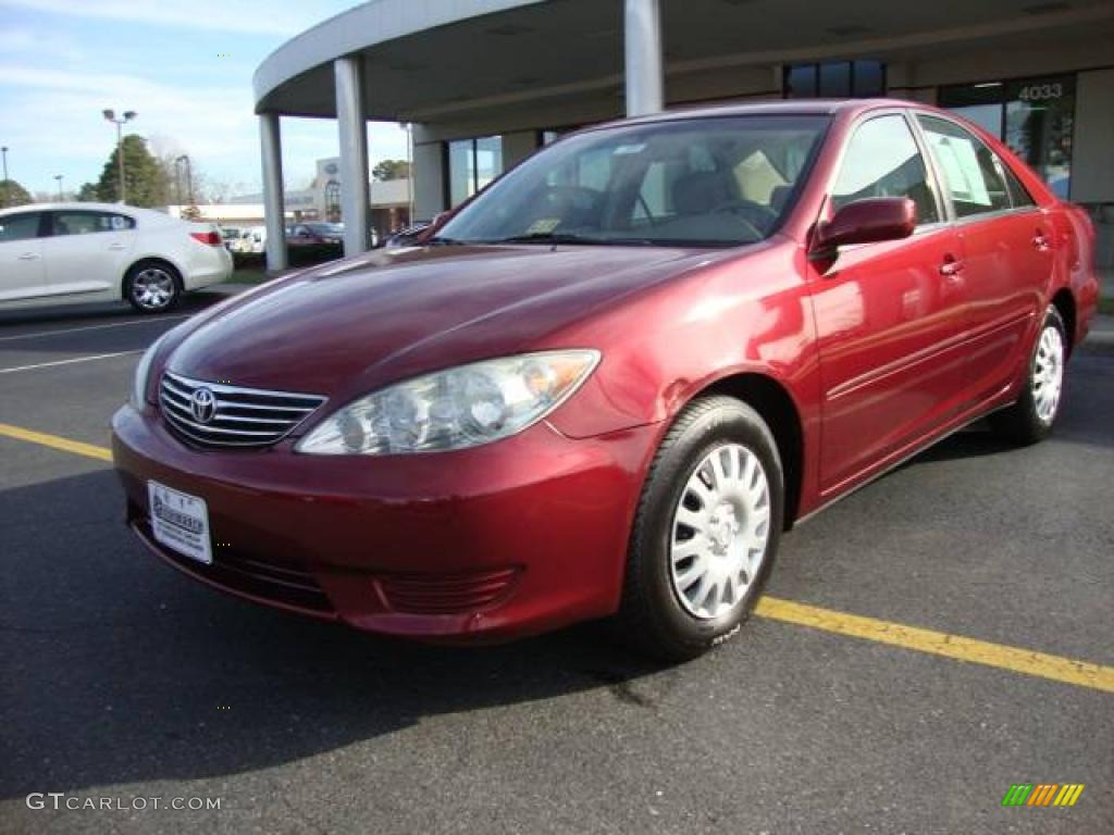 2006 salsa red pearl toyota camry le 24693570 car color galleries. Black Bedroom Furniture Sets. Home Design Ideas