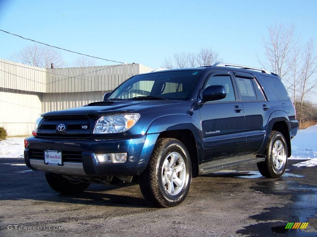2005 toyota 4runner sport edition 4x4 stratosphere mica color dark