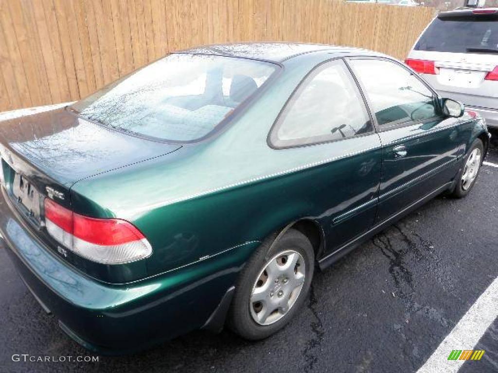 2000 clover green pearl honda civic ex coupe 24693918 car color galleries. Black Bedroom Furniture Sets. Home Design Ideas