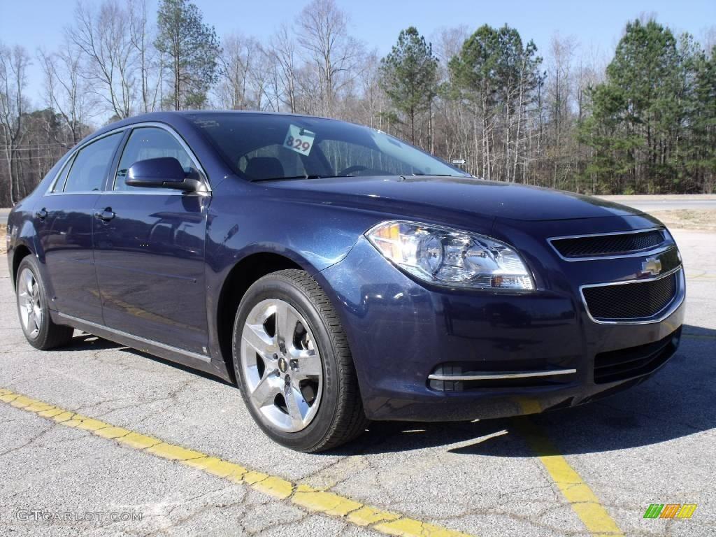 2009 Imperial Blue Metallic Chevrolet Malibu LT Sedan #24753380 Photo ...