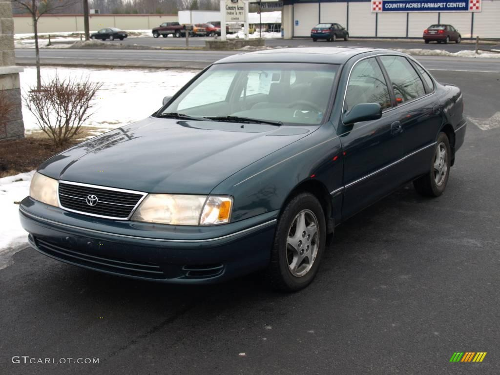 1999 Classic Green Pearl Toyota Avalon Xl 24753419 Photo 2 Car Color Galleries