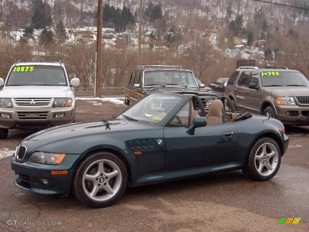 1998 Boston Green Metallic Bmw Z3 2 8 Roadster 24753535