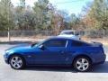 2007 Vista Blue Metallic Ford Mustang GT Premium Coupe  photo #2