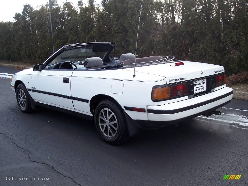1987 toyota celica gt convertible super white ii color gray