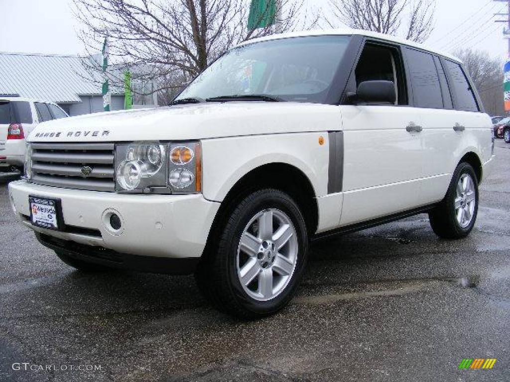 2003 chawton white land rover range rover hse 24900935. Black Bedroom Furniture Sets. Home Design Ideas