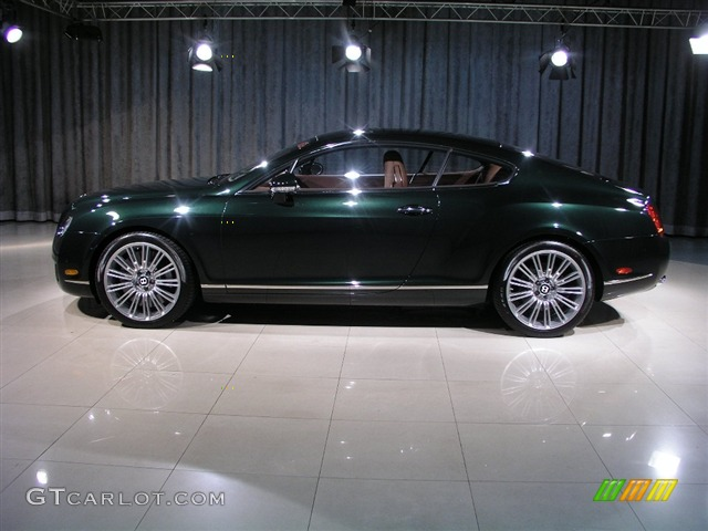 2008 Cumbrian Green Bentley Continental Gt Speed 248858