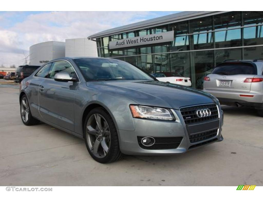 2010 Quartz Gray Metallic Audi A5 2 0t Quattro Coupe
