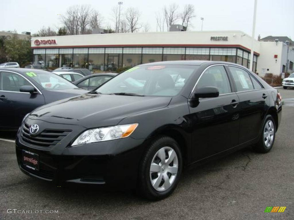 2007 black toyota camry ce 24945134 car color galleries. Black Bedroom Furniture Sets. Home Design Ideas