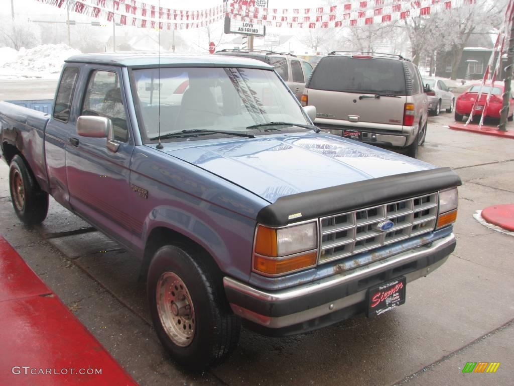 Ford Extended Warranty >> 1991 Light Crystal Blue Pearl Metallic Ford Ranger XLT Extended Cab 4x4 #24945143 Photo #5 ...