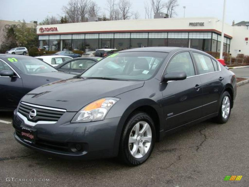 2008 Altima Hybrid Dark Slate Metallic Frost Photo 1