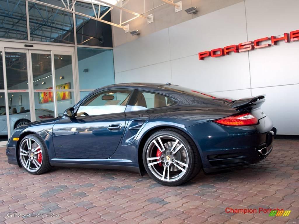2010 Dark Blue Metallic Porsche 911 Turbo Coupe #24944908 Photo #5 Blue Metallic Porsche Paint Colors on porsche cayenne paint colors, porsche 911 turbo light blue color, porsche paint color chart,