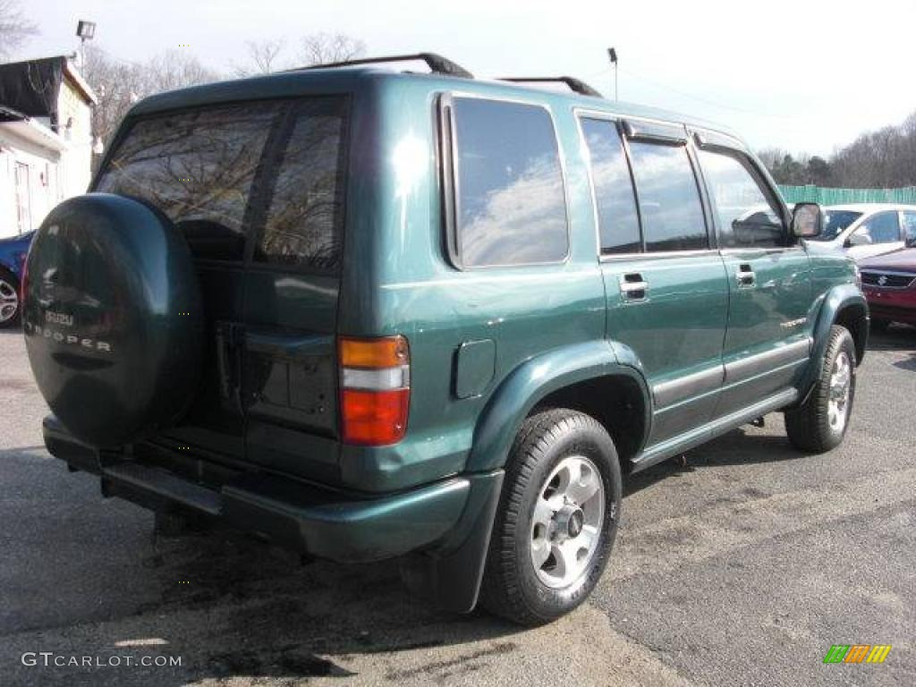 1999 forest green mica isuzu trooper s 4x4 24945043 photo. Black Bedroom Furniture Sets. Home Design Ideas
