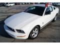 2007 Performance White Ford Mustang V6 Deluxe Coupe  photo #8