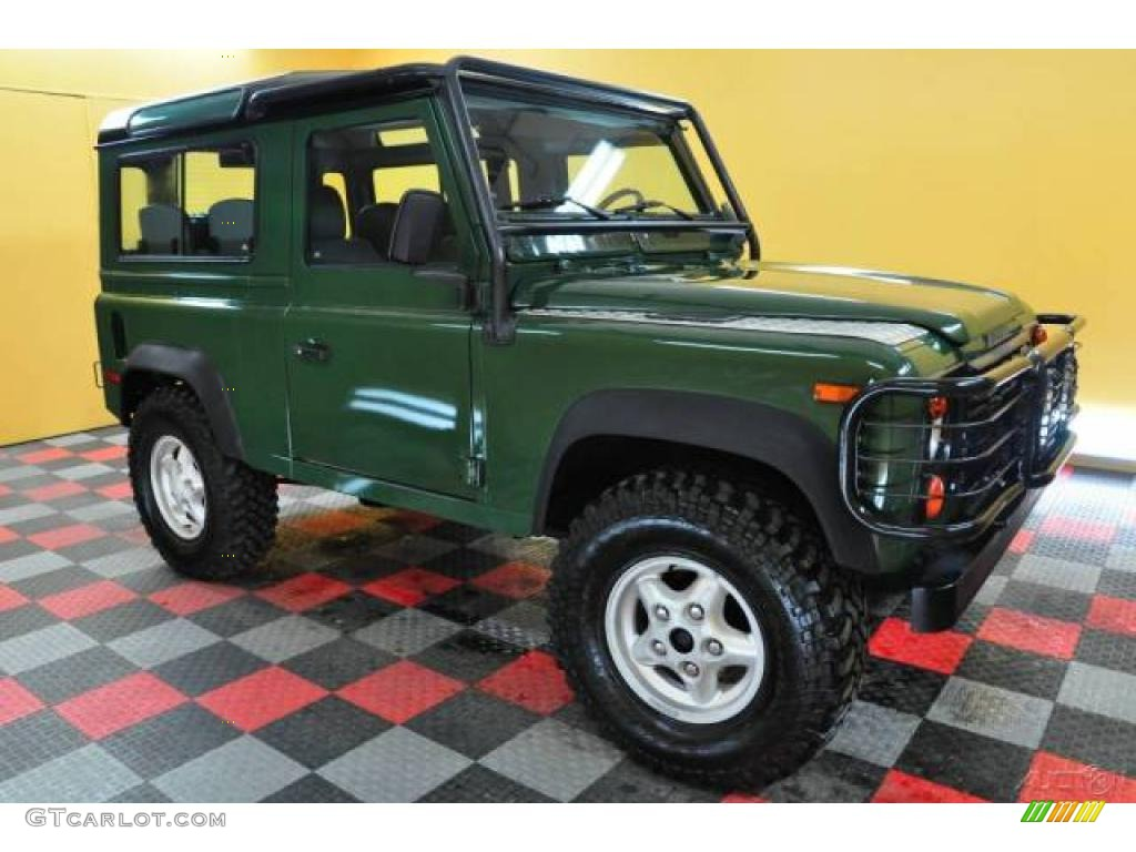 1997 Coniston Green Land Rover Defender 90 Hard Top