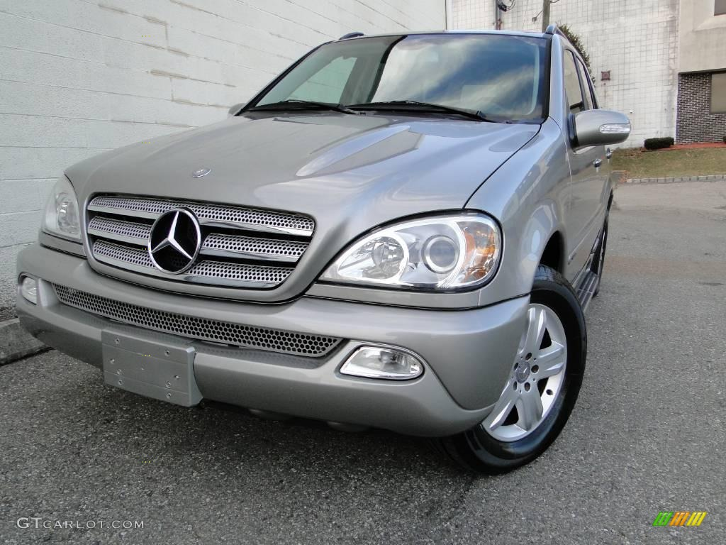 2005 pewter metallic mercedes benz ml 350 4matic 24999150 for Mercedes benz white paint