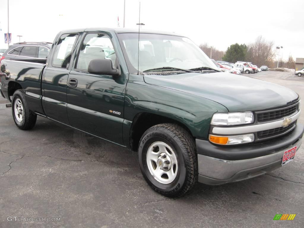 2001 chevrolet silverado 1500 extended cab forest green metallic. Cars Review. Best American Auto & Cars Review