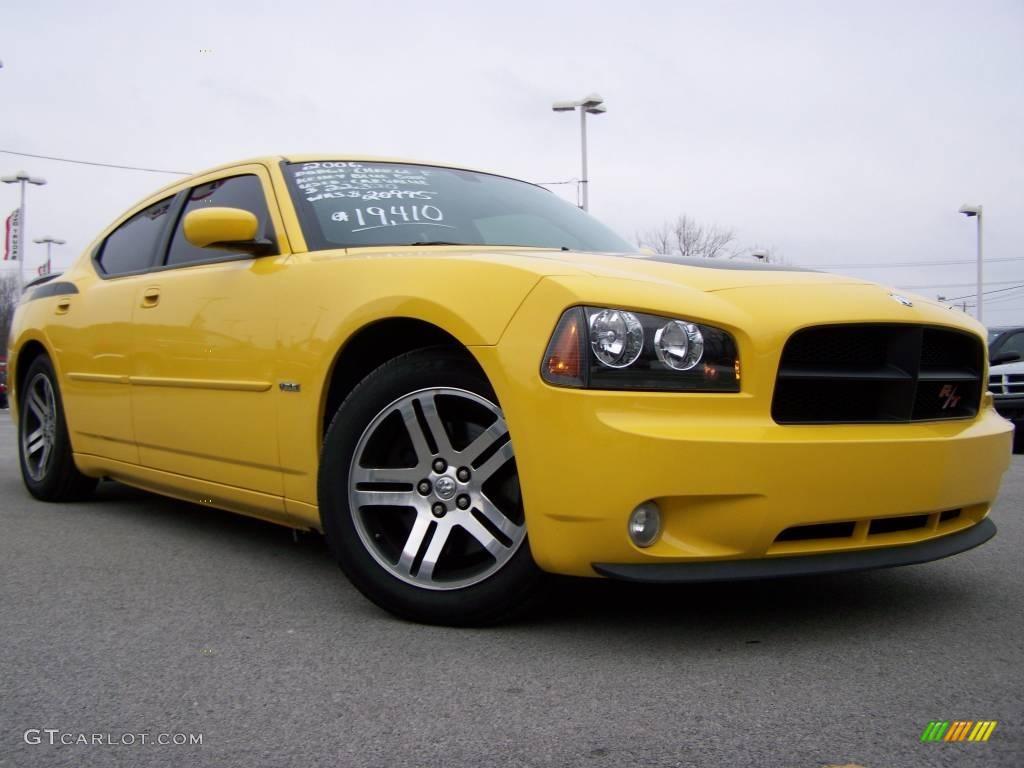 All Types 2006 charger daytona : 2006 Top Banana Yellow Dodge Charger R/T Daytona #24999012 ...